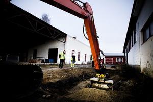Om tillsynsmyndigheten ger ett miljögodkännande kommer saneringen av det gamla fabriksområdet att avslutas.