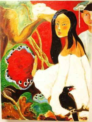 Hos Bolin visar Wen Ji en riktigt fascinerande och skönt annorlunda utställning