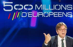 Liberalen Guy Verhofstadt skulle bli en utmärkt talman i EU-parlamentet, men hans chanser att bli vald är små, skriver Cecilia Wikström.