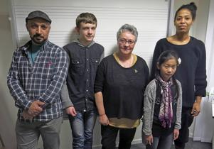 Saad Hilow, Halvar Wallman, Eileen Thormodsen, Linn Johansson och Destiny Bergwall deltar i unikt kulturskoleexperiment.