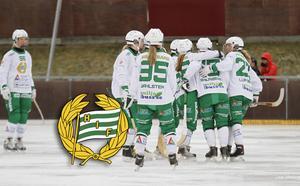 Hammarby spelade i elitserien i fjol. Nu vill man ha en plats i norra allsvenkan – men det får man inte enligt förbundets tävlingskommitté som placerat laget i södra serien.
