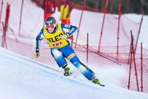 Viktor Andersson, Vemdalen, fick kliva upp på världscuppallen som trea i Tegernsee.