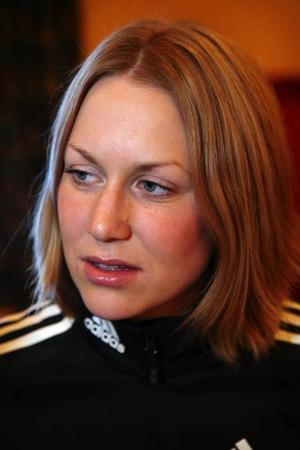 Helena Jonsson och alla de andra landslagsåkarna kommer till start på SM.
