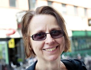 Christina Lundberg, 55 år, byggnadsingenjör, Valbo– Nej, jag tyckte inte om den innan heller.