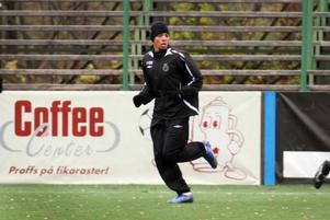 Brasilianske offensivspelaren Dias finns med när ÖFK inleder försäsongsträningen under måndagen. Här ser vi honom under provspelet med Gefle, 2009.Arkivbild: Gefle Dagblad