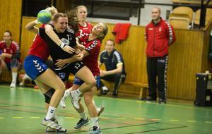 Sally Fälldin, född 1996, var Härnösands HK:s bästa spelare borta mot Lidingö.