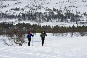 27 mars 2014, Niklas Bentzer och David Erixon lämnar Grövelsjön med siktet på att nå Treriksröset på 30 dagar.