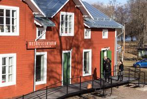 Stjärnsund. Café Sundets Stjärna är Husbyringens besökscentrum. Foto: Arkiv
