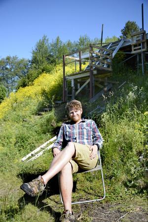 Med Håkan Borgsten har föreningen för första gången fått en regissör som faktiskt bor i länet. Om han får vara kvar har han stora planer, säger han.