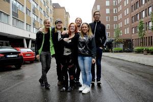 Fredrik Hast, Niklas Bjermkvist, Emmy Asklöf, Daniel Mikaelsson, Theresa Bystedt och Mikael Andersson-Knu från Pipeline och Sensus är med och anordnar Sundsvall block party.