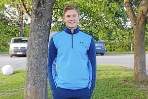 Gustav Lindströms stora mål den här säsongen är att bli uttagen till junior-VM.