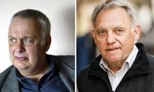 Rolf Lohse (till vänster) var påtänkt som ny ordförande enligt valberedningen samtidigt som Lennart Ögren skulle sparkas ur travstyrelsens ordförandestol.