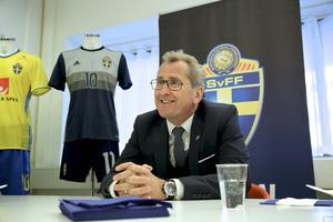 Sporten mötte Erik Hamrén i Stockholm.