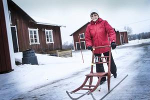 Ett aktivt pensionärsliv är nyckeln till välmående för Kerstin Olsson.