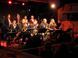 Blåssektionen i Jakob Norgren Jazz Orchestra är något extra med alla byten av instrument.