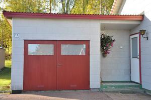 Garage med eternit, Särna.