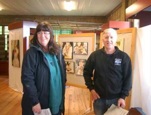 - Vi är mycket intresserade av kultur och besöker Konsthelgerna varje år, sa makarna Siv och Bertil Myhr.