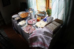 Efter en god frukost packar vi våra väskor och lämnar prästgården i Borgvattnet.