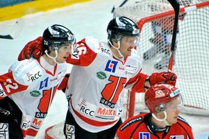 Johan Sjödell-Wiklander spelar mot Leksand. Skyttekungen gjorde klartecken efter måndagens värmning.