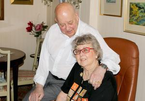 51:a förlovningsdagen och 50:e bröllopsdagen kommer Berit och Anders Olofsson att fira den närmsta veckan.