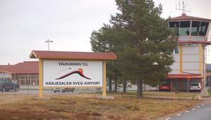 Härjedalen Sveg Airport. Foto: Leif Eriksson