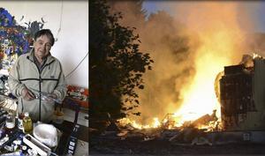 Essvik 26 april och 22 augusti: Sundsvallskonstnären Bengt Åberg går bort respektive familjens hus totalförstörs i en brand.
