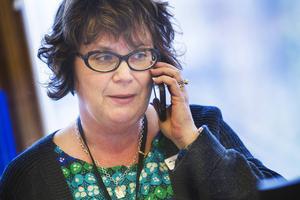 Gabriella Persson Turdell, chef på arbetsförmedlingen norra Hälsingland.