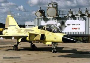 Jas-kunnandet. Sverige blev ledande på skydd mot elektromagnetiska vapen när man utvecklade Jas-flygplanet med Swedich Microwave Test Facility i Linköping. Nu kan anläggningen kanske komma att användas till att utveckla civila skydd i Ludvika
