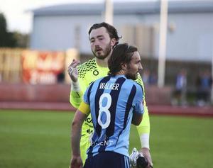 Charlie Bryant blev matchens lirare för ÖFK mot Djurgården.