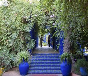 """Galerie Love"", Yves Saint-Laurents kärleksgalleri i Marrakech."