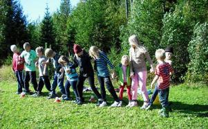 Förra tisdagen hade Svenstaviks skola, Djurgården F-5:an utedag under temat