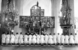 Konfirmation i Västerås domkyrka 1962.