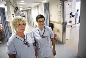 På akutmottagningen är hot inte ovanligt. Cheferna Liselott Agerhall och Marléne Kerber arbetar för att stödja anställda som blivit utsatta.