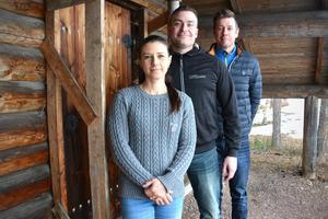 Cecilia Kihlman, Robert Nilsson och Christer Persson berättar om skolan UF-framgångar.