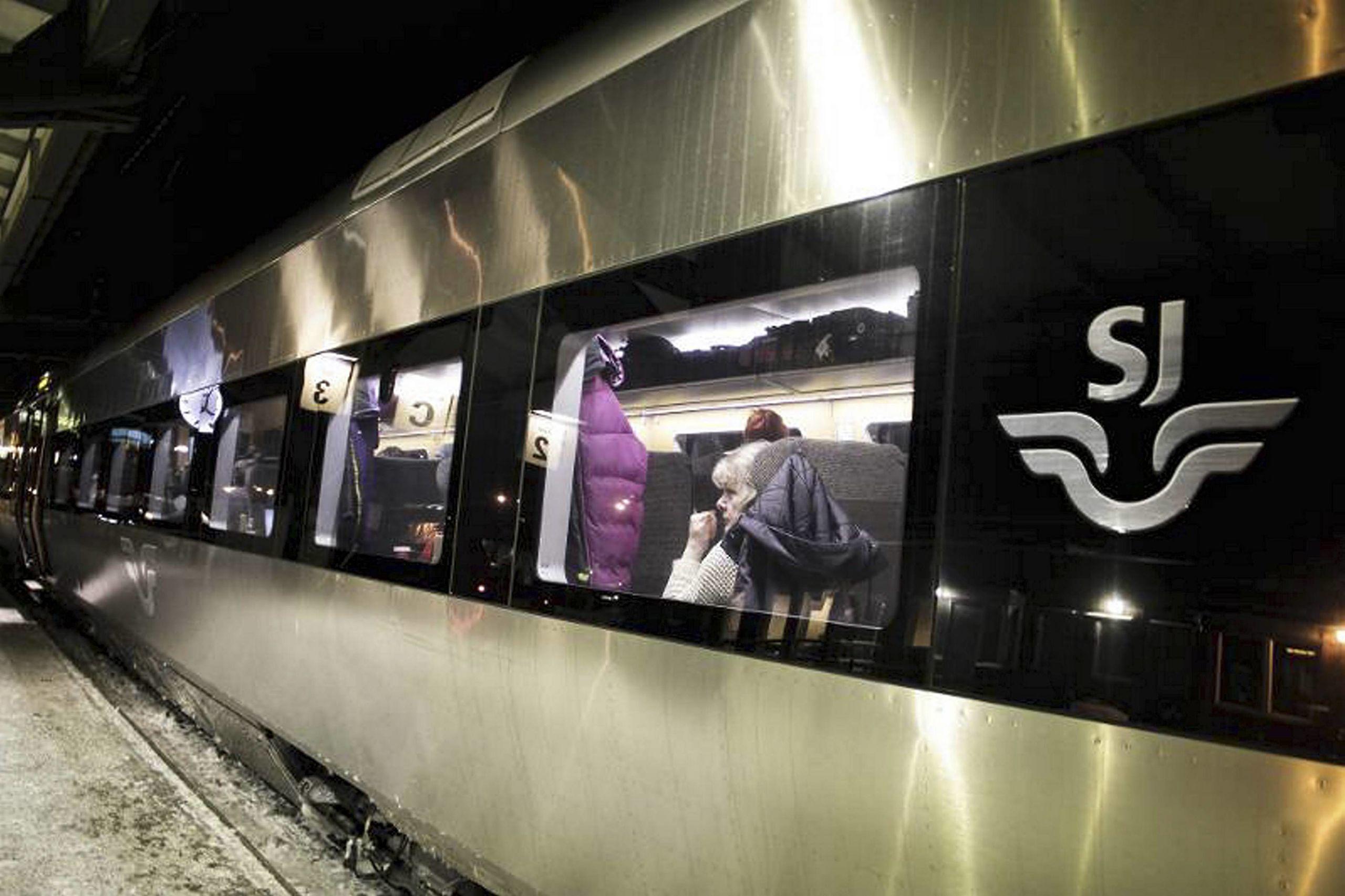 C och vid de tillfällena låste tåget upp hela Cst, då tåget var så långt.