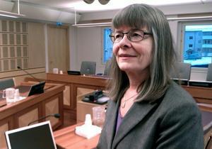 Ylva Johansson, lagman och chef på förvaltningsrätten med 35 anställda, hade mer att göra under 2013. Fler domar avkunnades och väntetiden blev kortare.