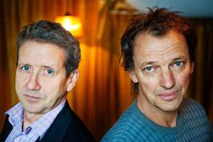 Martin Timell och Lennart Ekdal är programledare i TV4:s Fuskbyggarna.