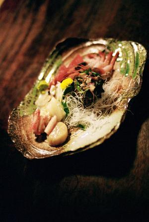 Den traditionella japanska maten får man bäst på ett japanskt värdshus, så kallad ryokan.   Jörgen Ulvsgärd