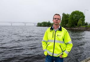 Stefan Näslund, sektionschef på kommunen.