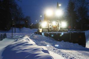 Så här såg det ut en morgon i början av december förra året när Härjedalen fick ett oväntat stort snöfall över en natt. Kanske är det något liknande som väntar på tisdagen?