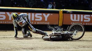 Grzegorz Zengota är allvarligt skadad efter en olycka på träningen i Polen.