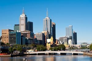 Melbourne är en av de trevligaste städerna.