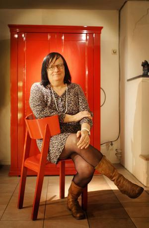 Maria Hansson Nielsen besökte Söderhamn första gången 2013 under Pride-festivalen. Hon blev