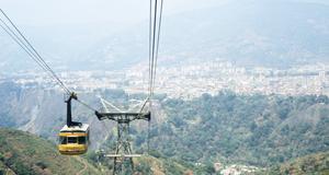 Linbanan i Merida, Venezuela, är världens längsta.