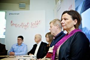 Jonas Hillerström, Lars Ingvarsson, Barbro Gossas, Leif Lindström och Marie Edenhager.