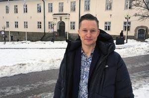 David Bergström, falu kommuns kultur- och fritidschef. Foto: Falu kommun