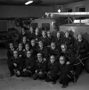 Tillberga Brandkår i december 1970.