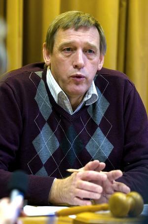 Nils Persson. Ny vice s-ordförande i Borlänge.