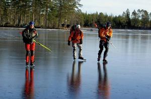 Hedåssjön vid Bjuråker, Hudiksvalls kommun, är en annan fin sjö för vinterutflykten.