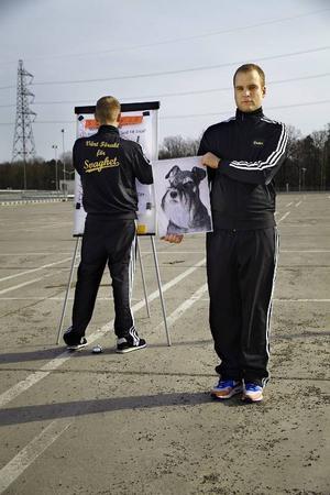 Mattias Brunn och Victor Wigardt har de två huvudrollerna i